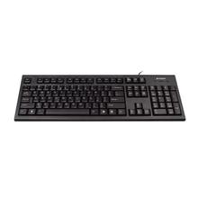 A4Tech keyboard + optical mouse (KR-85+OP-620D), USB (Black) (US+RU) A4Tech Keyboard and mouse set, KR-85+OP-620D multimedia, wired, EN/RU, USB