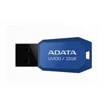 A-Data UV100 32 GB, USB 2.0, Blue