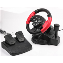 Gembird Multi-interface vibrating racing wheel (PC/PS2/PS3)