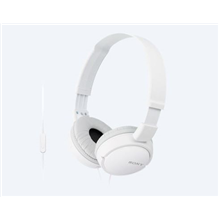 Sony MDRZX110APW.CE7 Headband/On-Ear, Microphone, White