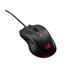 Asus Gaming mouse Cerberus Fortus Wired, No, Black,