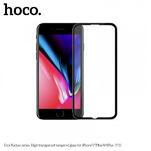 hoco. Cool Radian series High transparent ( V3 ) Screen protector, Apple, iPhone 6/6S, Tempered glass, Black