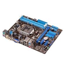ASUS H61M-K / Intel H61(B3) / 2 x DDR3 DIMM max. 16GB Dual channel / Graphics: 1xDVI-D, 1xD-Sub / 1 x Realtek 8111F GbE LAN chip  / Expansion: 1x PCIe 3.0/2.0 x16, 2x PCIe 2.0 x1 / 4x SATA 3Gb/s / 8x USB2.0 / ATX