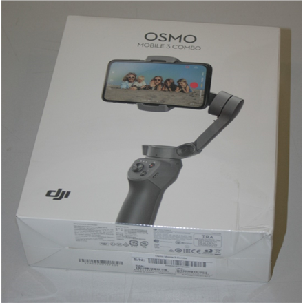 SALE OUT. DJI Osmo Mobile 3 Stabilizer Combo Kit DJI Osmo Mobile 3 Stabilizer Combo Kit SMALL DAMAGE ON PACKAGING