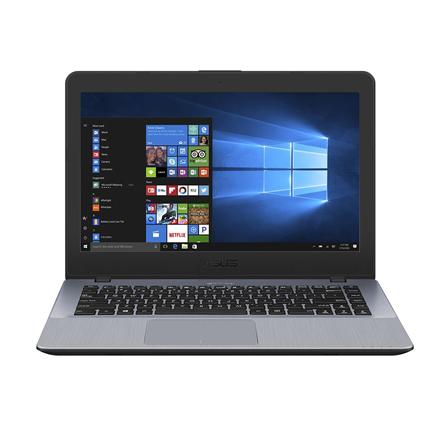 Asus VivoBook X442UA Dark Grey, 14 , FHD, 1920 x 1080 pixels, Matt, Intel Core i5, i5-7200U, 4 GB, DDR4 on board, SSD 256 GB, Intel HD, Super-Multi DL 8x DVD+ -RW, Windows 10 Home, 802.11 ac, Bluetooth version 4.1, Keyboard language English, Warrant