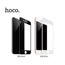 hoco. Shatterproof edges full screen ( A1 ) Screen protector, Apple, iPhone 6 Plus/6S Plus, HD glass, Black