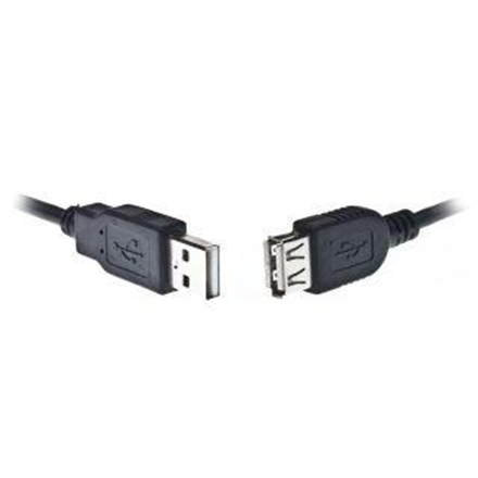 USB 2.0 A-plug A-socket 3m cable