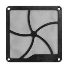 SilverStone Fan grille and filter kit SST-FF141B Black, 140 x 140 x 3 mm