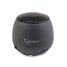 Gembird SPK-103 Portable speakers, Black, 2 W