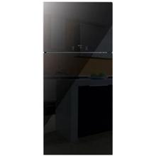 Daewoo FN-T650NPB Refrigerator / No Frost system, Anti-bacterial coating / A+ / LED sensor displey / 510LT / LED LIGHT / 177 x 77 x 76.2 cm / Black Glass