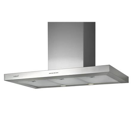 Hood CATA SYGMA VL3 600  Wall mounted, Width 60 cm, Stainless steel, Energy efficiency class C, 65 dB
